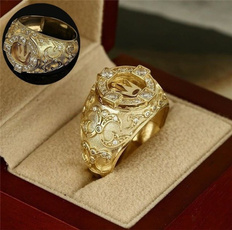 Jewelry, men_rings, hip hop jewelry, gold