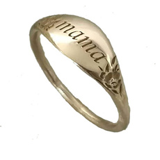 Flowers, letterring, Jewelry, Gifts