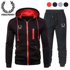 hooded, pants, Men, Running