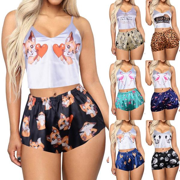 cute, womensleepwear, Pajamas, Women's Fashion