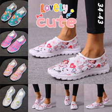 Flats, Sneakers, Plus Size, Breathable