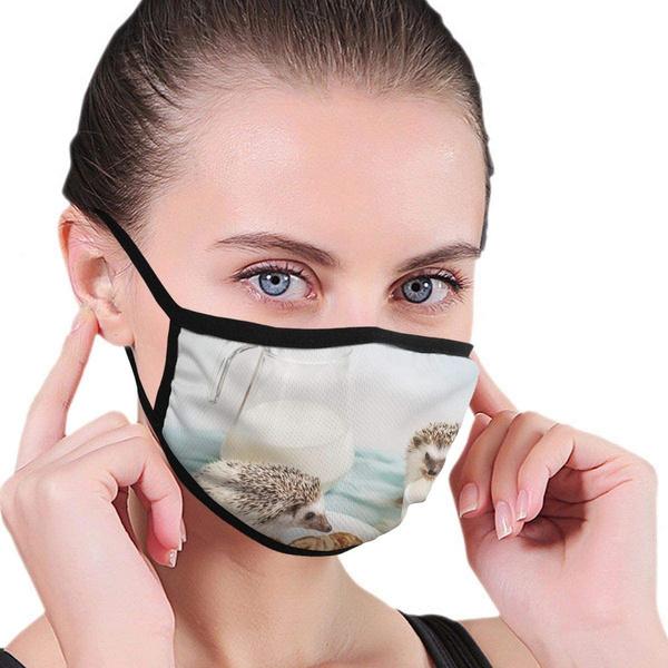 earloopmask, cute, blackmask, safetymask