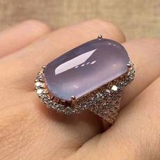 18 k, crystal ring, wedding ring, gold