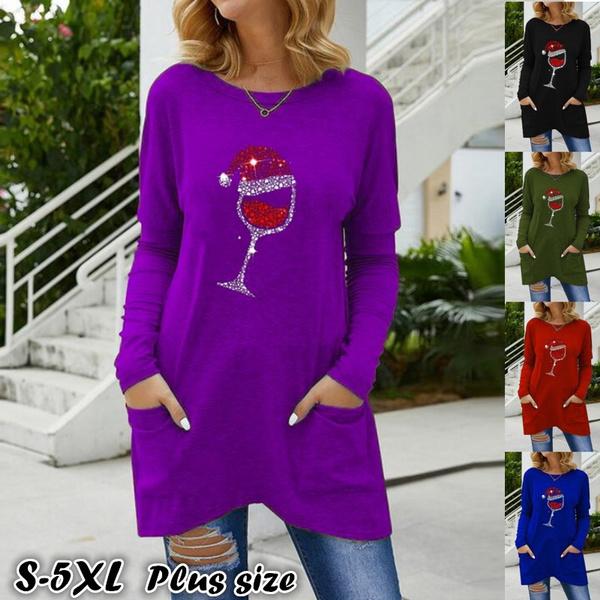 blouse, autumnwinter, Plus Size, Necks