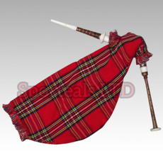 bagpipe, Musical Instruments, brown, bagpiper