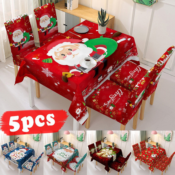 party, chaircover, Christmas, Family