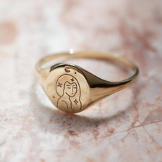 Star, wedding ring, Gifts, Silver Ring