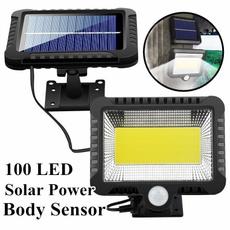 solarwalllamp, coblamp, Bright, Outdoor