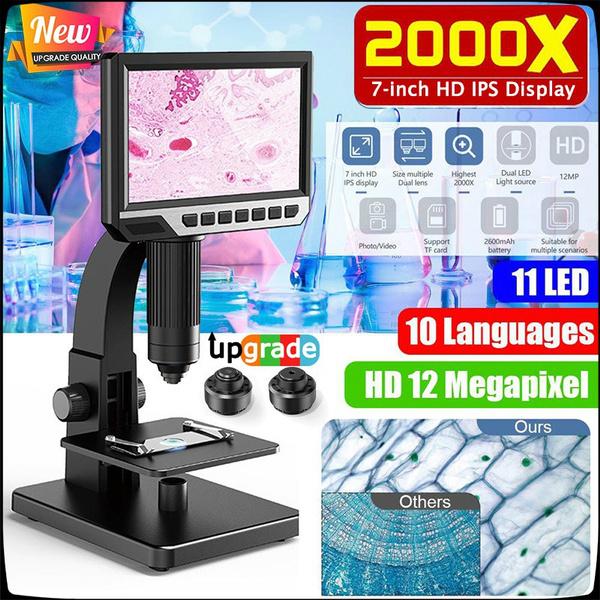 portablemicroscope, microscopewithled, Camera, portabledigitalmicroscope