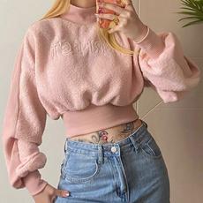 Fleece, Shorts, Winter, Sleeve
