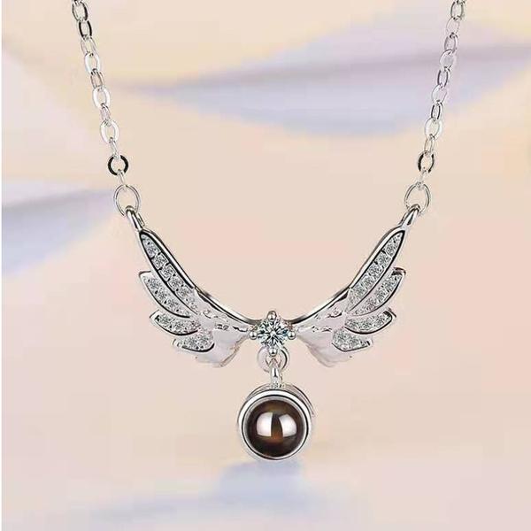 angelnecklace, Fashion, Jewelry, Angel