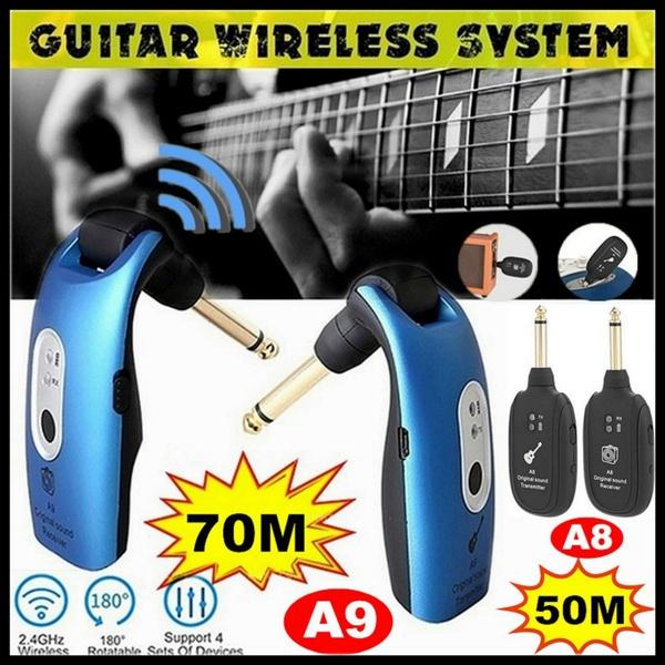 Transmitter, Rechargeable, Bass, Battery