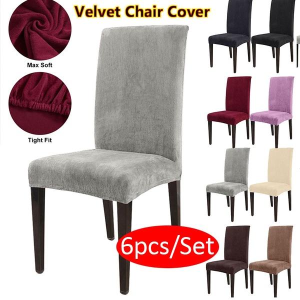decoration, chaircover, velvet, Home & Living