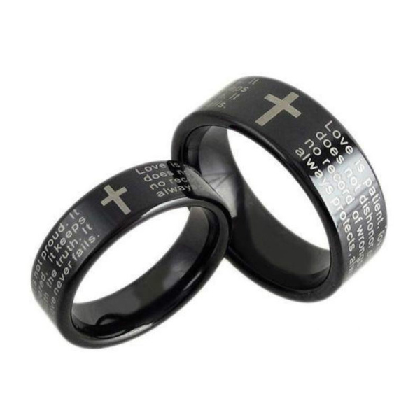 tungstenring, Christian, Jewelry, 925 silver rings