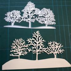 art, Winter, decorativemodel, Tree