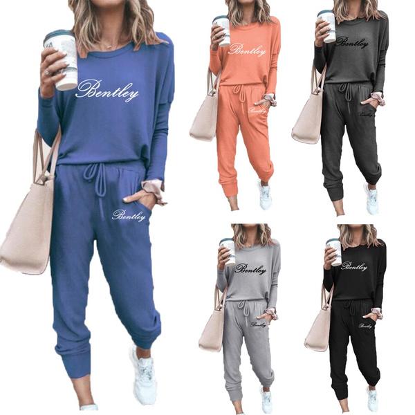 Fashion, Two Pieces, pants, sweatshirtsuit