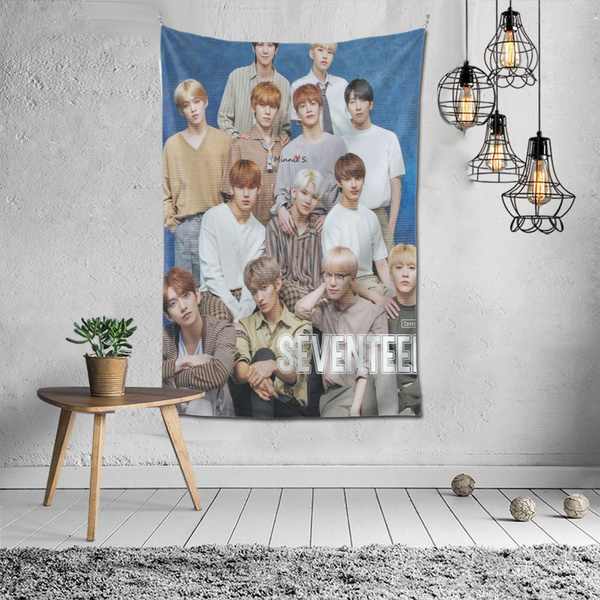 K-Pop, wallhangingtapestry, rockrebel, Home & Living
