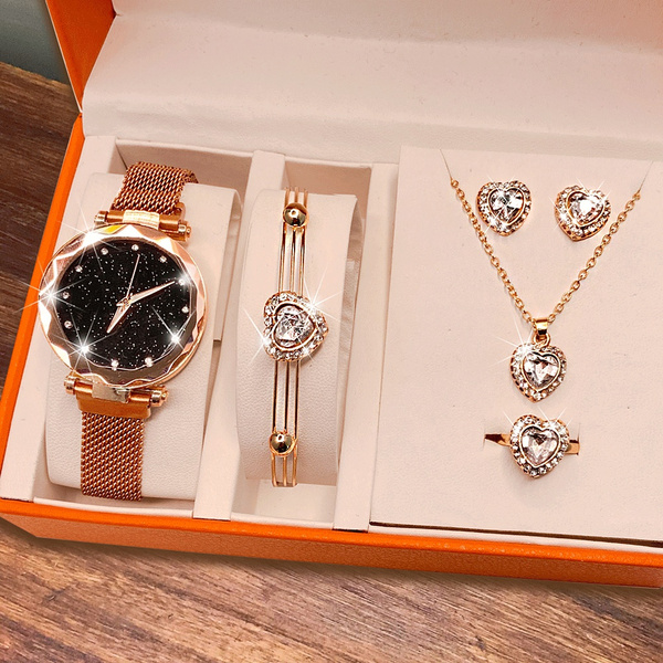 Heart, DIAMOND, christmasgiftjewelry, Watch