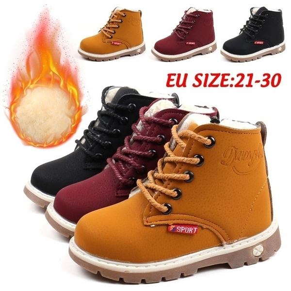 casual shoes, Winter, leather, Boots