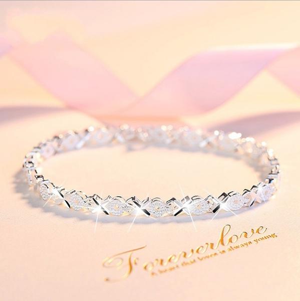 Charm Bracelet, 925 silver Bracelet, Fashion, sterling silver