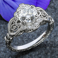 Sterling, fashiondiamondring, Jewelry, 925 silver rings