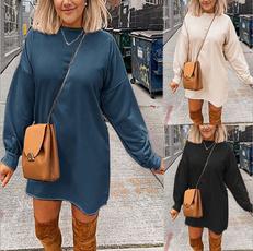 hooded sweater, sweater dress, Sleeve, Long Sleeve