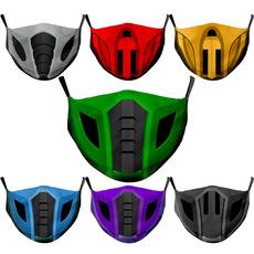 cottonfacemask, washable, mortalmask, Face Mask