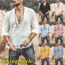 Summer, Fashion, Shirt, vikingshirt