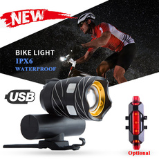 Flashlight, Bright, Outdoor, Bicycle