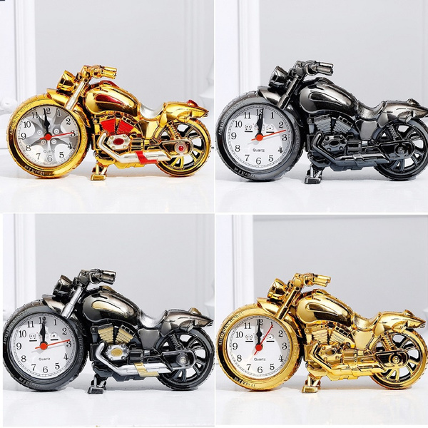 motorcyclealarmclock, Decor, quartz, Home Decor