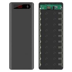 Box, case, powerbankshell, Battery