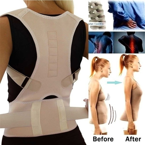 Fashion Accessory, Adjustable, posturecorrector, Magnetic