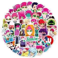 Waterproof, saikikusuosticker, Stickers, Japanese Anime