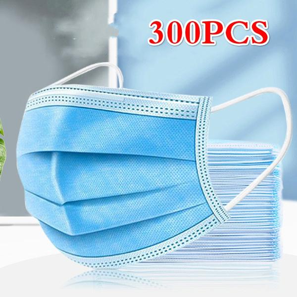 Blues, respiratormask, shield, Elastic