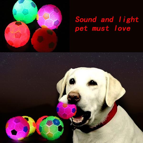 balltoypettoyflashingball, dogtoy, Toy, led