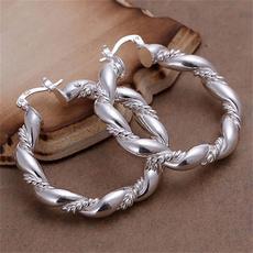 Sterling, Fashion, wedding earrings, sterling silver