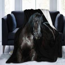 Fleece, Blanket, supersoftsherpablanket, horse