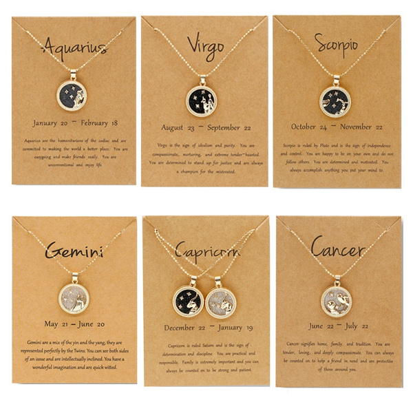 constellationnecklace, virgo, zodiacnecklace, Bullet