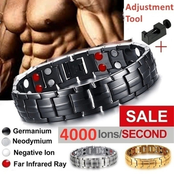 Steel, Fashion, healthbracelet, Mens Accessories