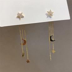 Tassels, korea, Star, Jewelry