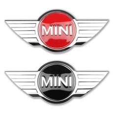 Mini, carbadge, Metal, Car Sticker