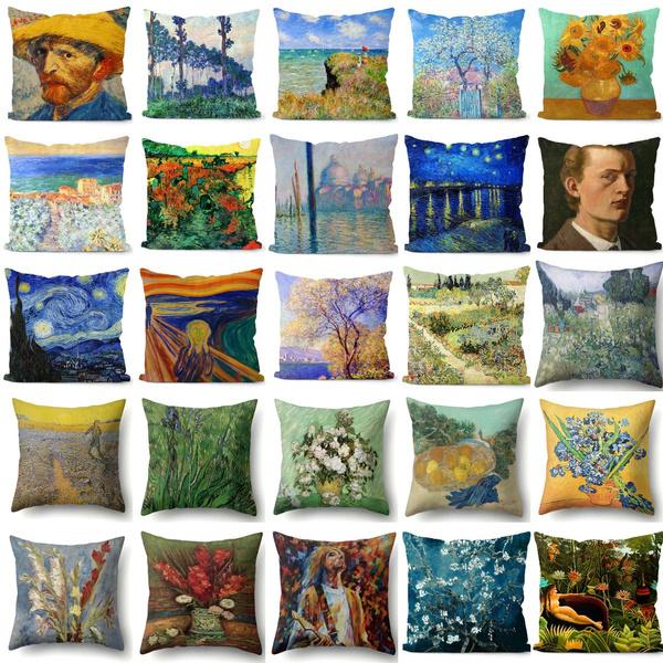 Decorative, Pictures, art, Pillowcases