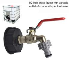 Brass, Faucets, Tank, Garden