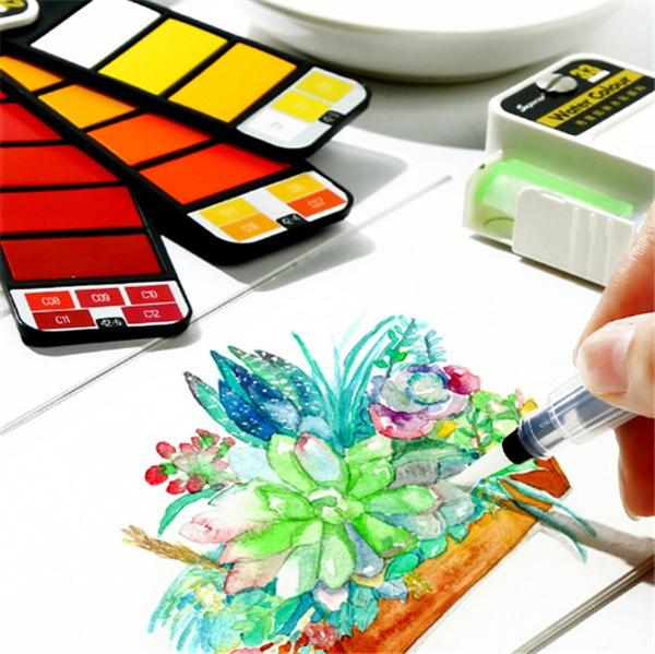 Art Supplies, portablewatercolor, watercolorpaint, painting