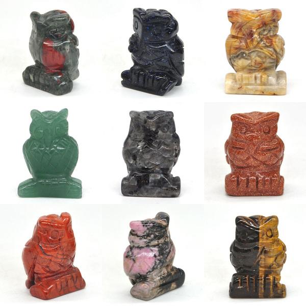 reikihealingstone, Owl, Animals & Figures, naturalcrystal
