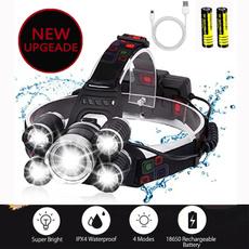 ledheadlamp, Flashlight, Head, led