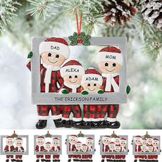 xmastreedecor, Christmas, Family, Santa Claus