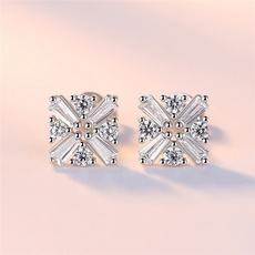 cube, Love, Jewelry, Stud Earring