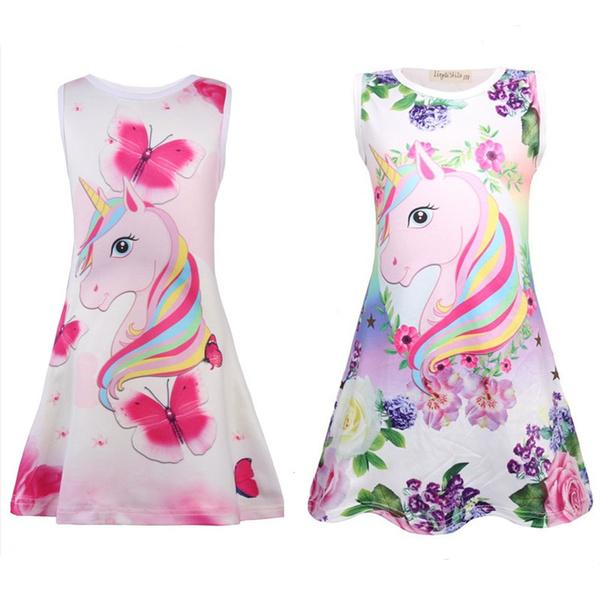 cartoondresse, Polyester, Fashion, Summer