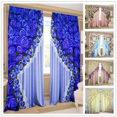 curtainsforkitchen, tendeperlacasa, Flowers, Door